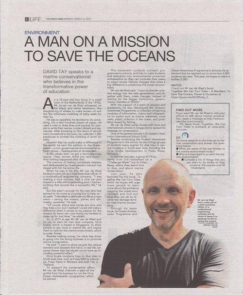 Jeroen Straits Times